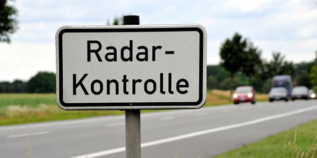 Bild Verkehrsrecht Radarkontrolle